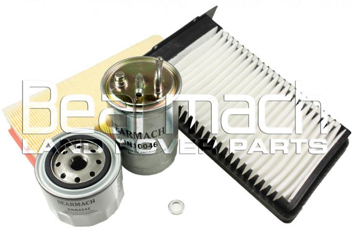 Filterpaket Freelander 1 2.0 Diesel
