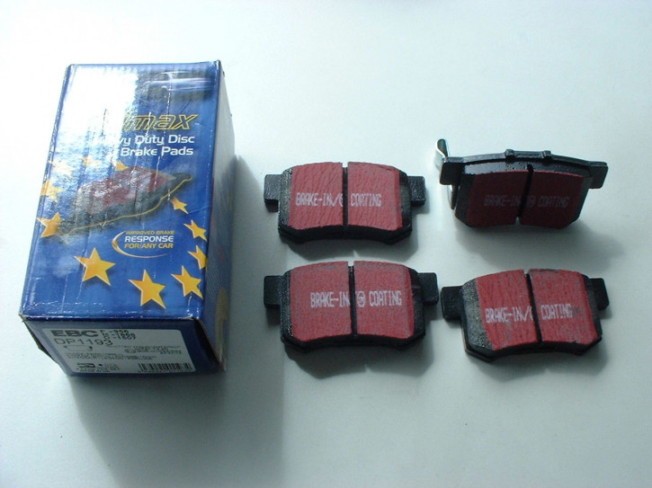 Bremsklötze hinten EBC Blackstuff MG ZS 180