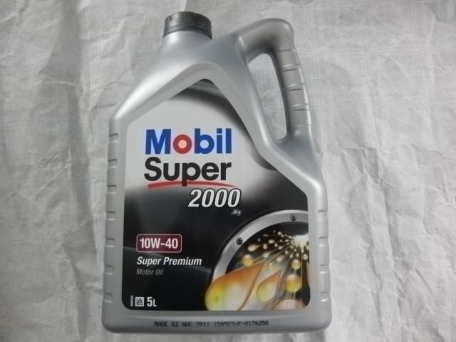 5Liter Motoröl Mobil 10W40