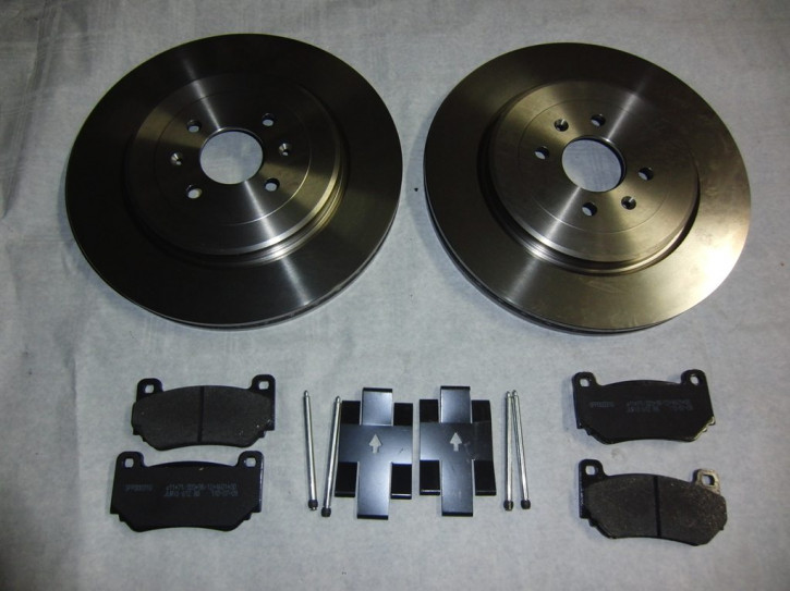 Bremsscheiben und Klötze Trophy 304mm