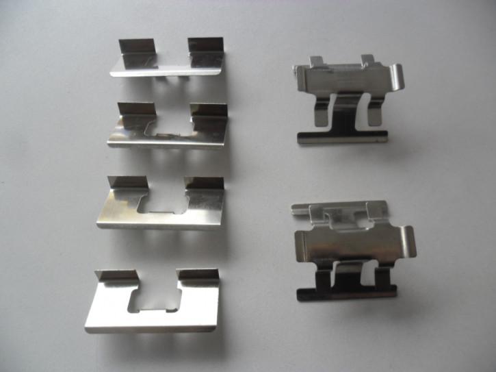 Montagebleche für Bremsklötze Hinterachse